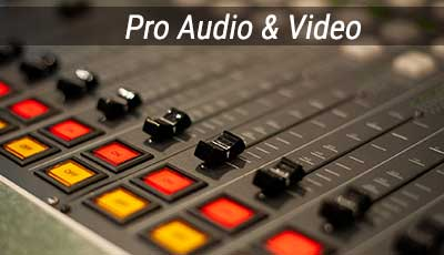 Pro Audio Video Broadcast Equipment for sale