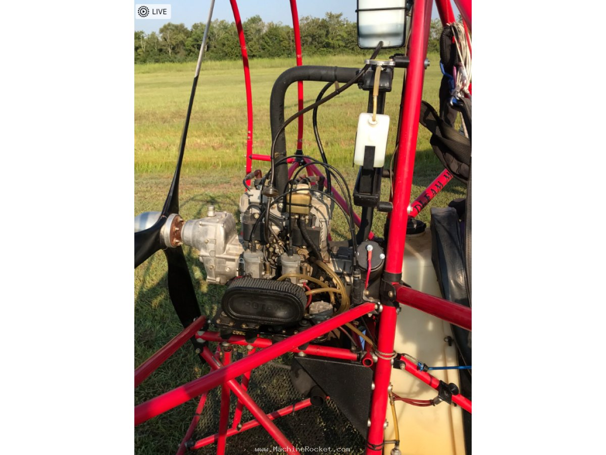 Buckeye Dream Machine PPC Powered Parachute Rotax 582 for sale in Pearland TX